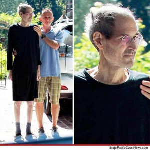Ultima foto conocida de Steve Jobs con cancer
