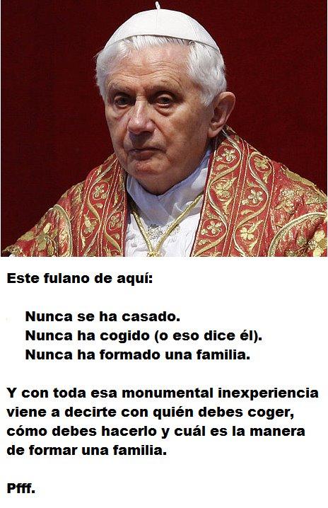 la Iglesia de Mexico EXIGE RESPETO al Papa Benedicto XVI??? NO MAMEN!!